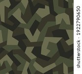 geometric camouflage seamless... | Shutterstock .eps vector #1922790650