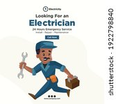 Looking For An Electrician...