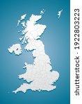 creative detailed vector map... | Shutterstock .eps vector #1922803223