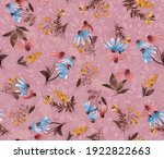 Watercolor Floral Pattern  Wild ...
