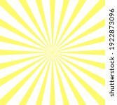 yellow sun rays background....   Shutterstock .eps vector #1922873096