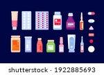 pharmaceutical medications.... | Shutterstock .eps vector #1922885693