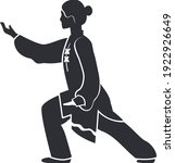 Wushu Icon In Different Style...