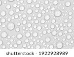 Water Drops On White Background ...