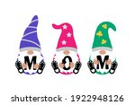 cute gnomes with mom sign on... | Shutterstock .eps vector #1922948126