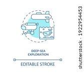deep sea exploration concept... | Shutterstock .eps vector #1922954453