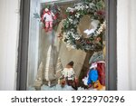 A Shop Window Displaying New...