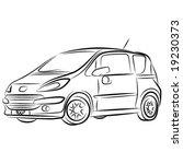 vector car   Shutterstock .eps vector #19230373