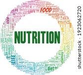 nutrition vector illustration... | Shutterstock .eps vector #1923062720