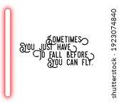 good morning motivational quote ... | Shutterstock . vector #1923074840