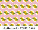 graphic circles seamless... | Shutterstock .eps vector #1923116576