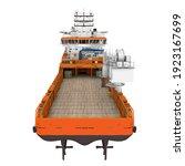 Platform Supply Vessel Ship...