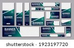 set of creative web banners of...   Shutterstock .eps vector #1923197720