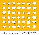 set of retro empty comics...   Shutterstock .eps vector #1923202949