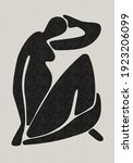 abstract art poster. mid... | Shutterstock .eps vector #1923206099