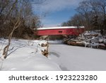 The Narrows Covered Bridge Over ...