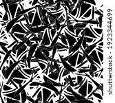 seamless monochrome pattern of... | Shutterstock .eps vector #1923344699