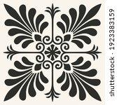 vector vintage foliate. design...   Shutterstock .eps vector #1923383159