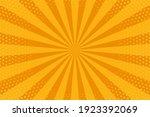 pop art background. comic... | Shutterstock .eps vector #1923392069