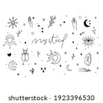 digital pack containing hand... | Shutterstock .eps vector #1923396530