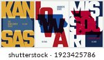 vector posters states of the...   Shutterstock .eps vector #1923425786
