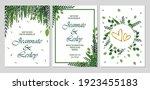 weeding invitation elegant...   Shutterstock .eps vector #1923455183