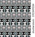 ethnic pattern | Shutterstock .eps vector #192349334