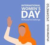 international women s day. 8th... | Shutterstock .eps vector #1923498710