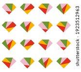 abstract seamless pattern.... | Shutterstock .eps vector #1923512963