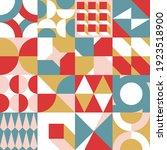 abstract vector geometric... | Shutterstock .eps vector #1923518900