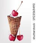 food vector illustration sweet... | Shutterstock .eps vector #1923565493