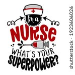 i am a nurse  what is your... | Shutterstock .eps vector #1923606026