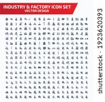 industrial and factory vector... | Shutterstock .eps vector #1923620393