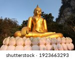 Big Buddha Behind The Mountain...