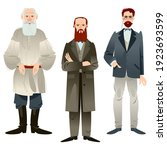 history of russia. famous... | Shutterstock .eps vector #1923693599