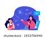 remote education.online digital ...   Shutterstock .eps vector #1923706940