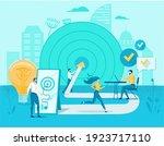 business anti crisis management ... | Shutterstock .eps vector #1923717110