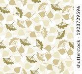 seamless simple pattern. green... | Shutterstock .eps vector #1923729596