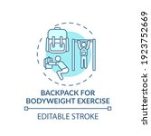 Backpack For Bodyweight...