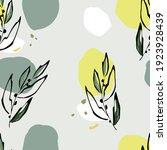 seamless pattern abstract... | Shutterstock .eps vector #1923928439