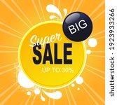 flash sale special offer banner ... | Shutterstock .eps vector #1923933266