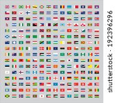 224 flags of the world | Shutterstock . vector #192396296