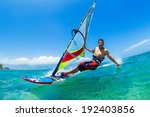 Windsurfing  Fun In The Ocean ...