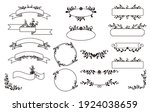 set of frames  banners and... | Shutterstock .eps vector #1924038659