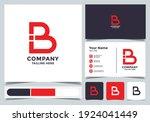 initial letter b logo. a unique ...