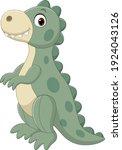 cute dinosaur doll isolated on... | Shutterstock .eps vector #1924043126