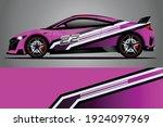 racing car decal wrap design.... | Shutterstock .eps vector #1924097969