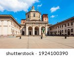 The Basilica Of San Lorenzo...