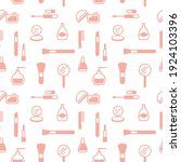 seamless texture from cosmetics ... | Shutterstock .eps vector #1924103396