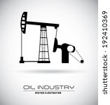 industry design over black... | Shutterstock .eps vector #192410369